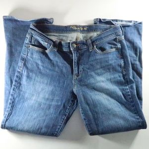 Old Navy 10 Short Blue Denim Jeans Sweetheart Slig